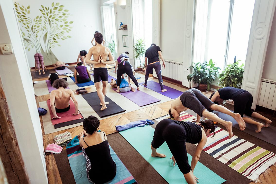 yoga domingo madrid