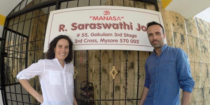 Sara y Raul mysore 2016