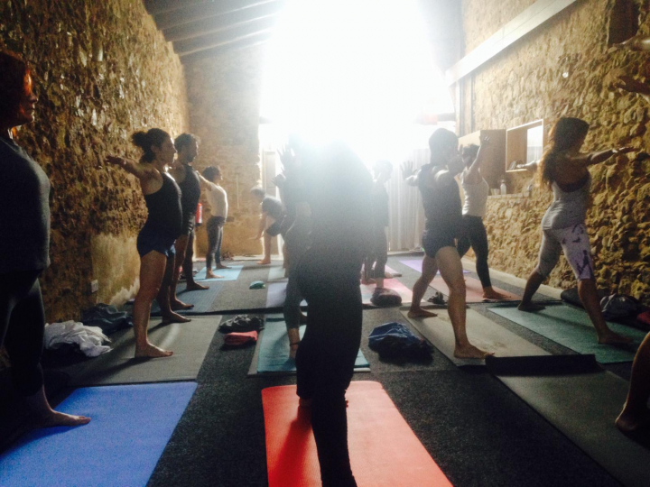Tomas retiro 2018 yoga 3